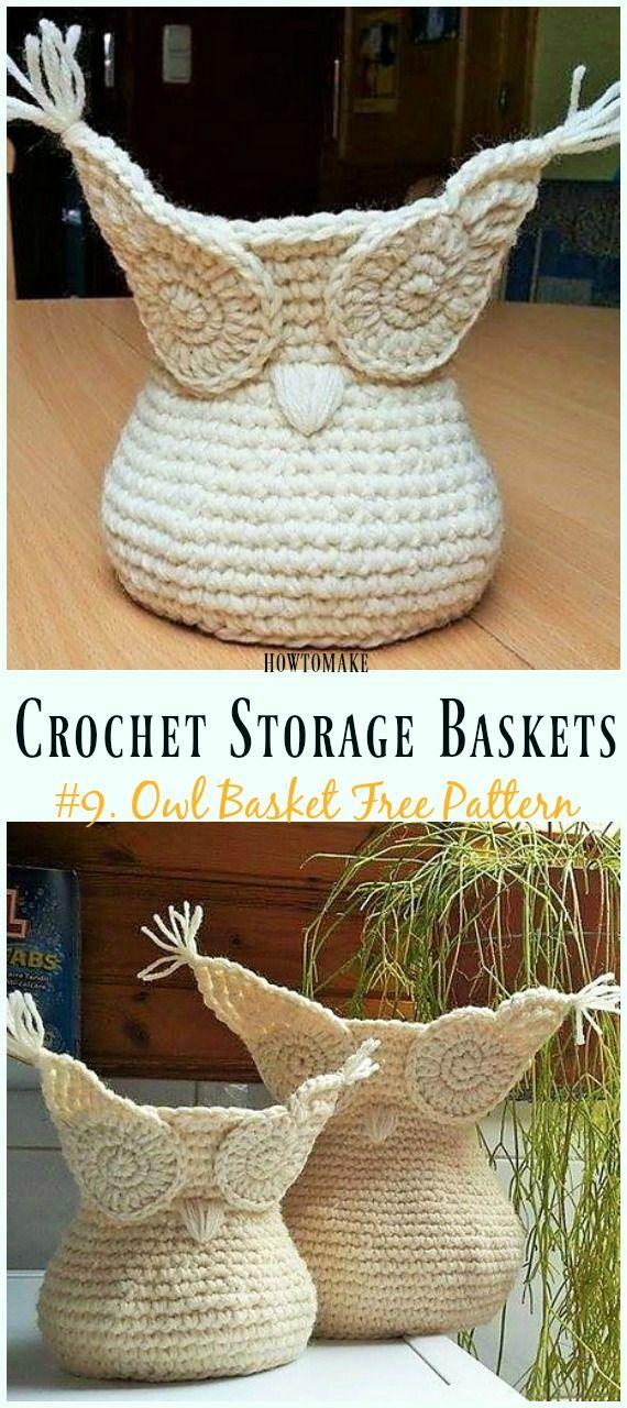 Storage Basket Free Crochet Patterns Crochet And Knitting