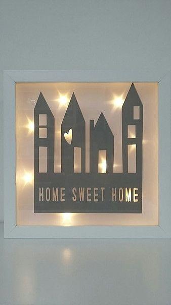 bilderrahmen beleuchteter bilderrahmen home vintage. Black Bedroom Furniture Sets. Home Design Ideas