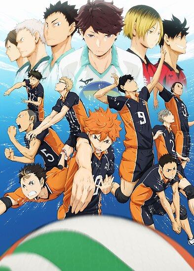 Haikyuu - Hinata / Tsukishima / Nishinoya Poster
