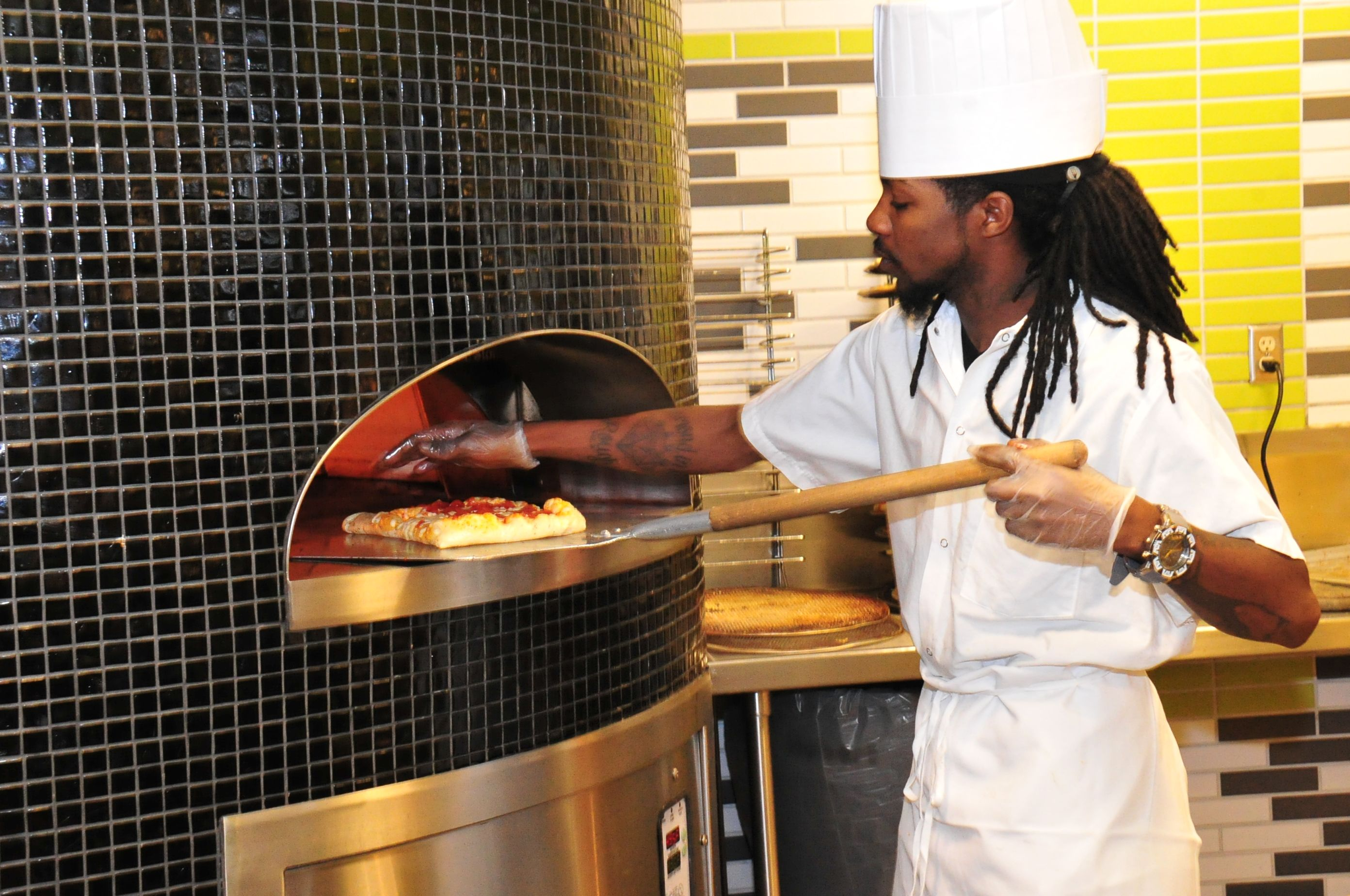 State Quad: Craving pizza? #UAlbany's State Quad features a brick oven for #pizza!