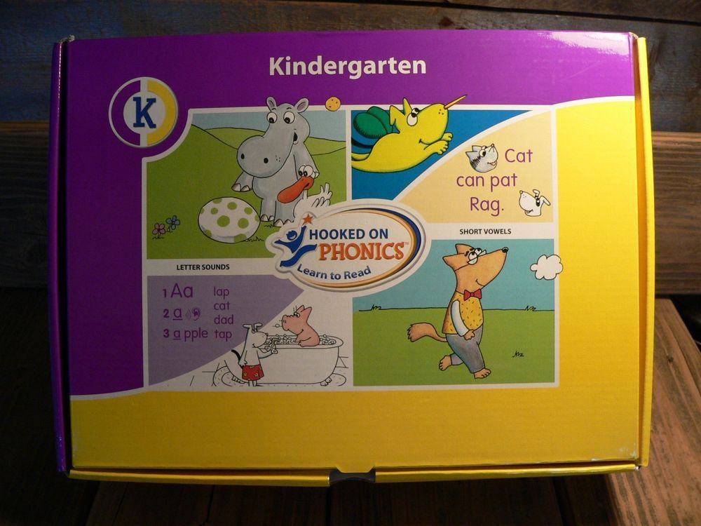 Hooked On Phonics Learn To Read Kindergarten System