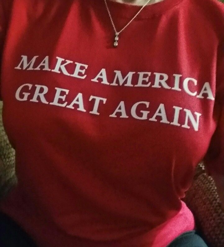 Bought this shirt to wear today during Republican primaries in SC. Republicans, VOTE! Regardless of your choice, just vote to voice your opinion while we still have that right.