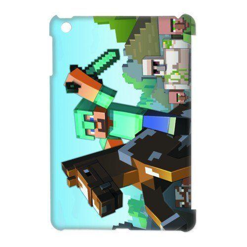 iPad mini Minecraft cases | .com: Custom Hot Game Minecraft Shell Case Cover for iPad Mini cases ...