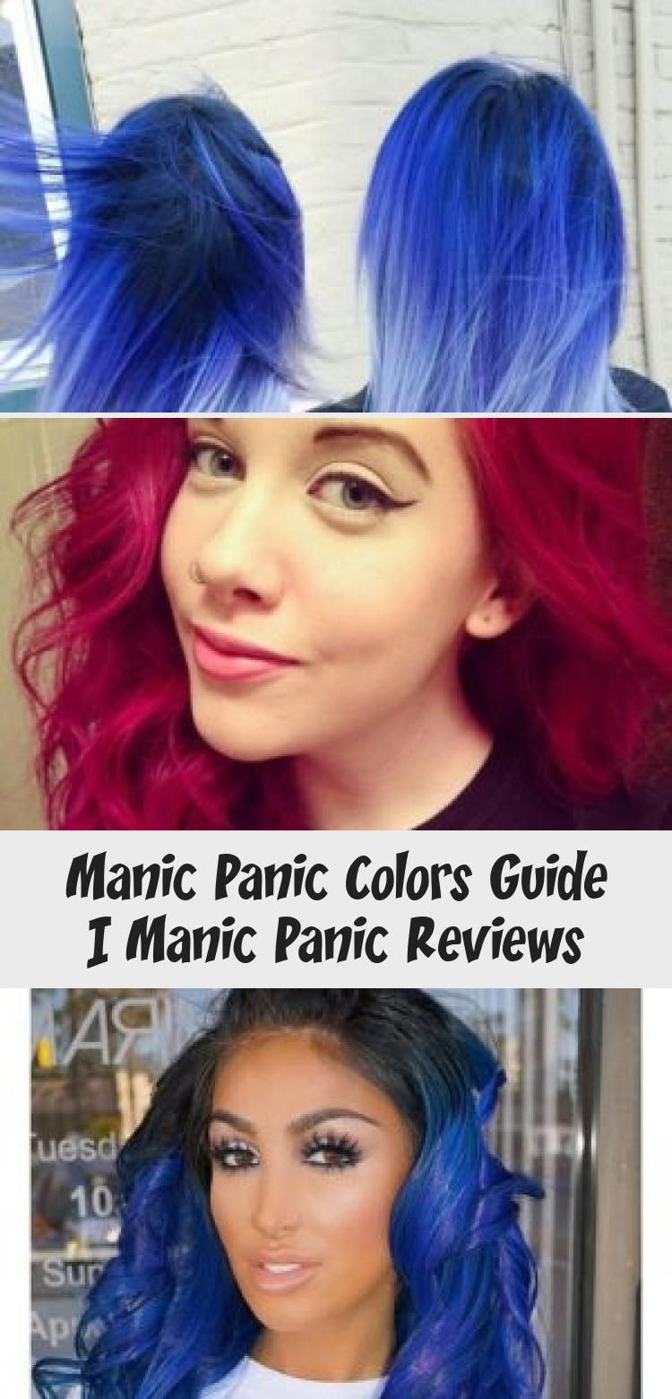Manic Panic Colors Guide Manic Panic Reviews Hairstyles In 2020 Manic Panic Reviews Manic Panic Colors Dyed Hair