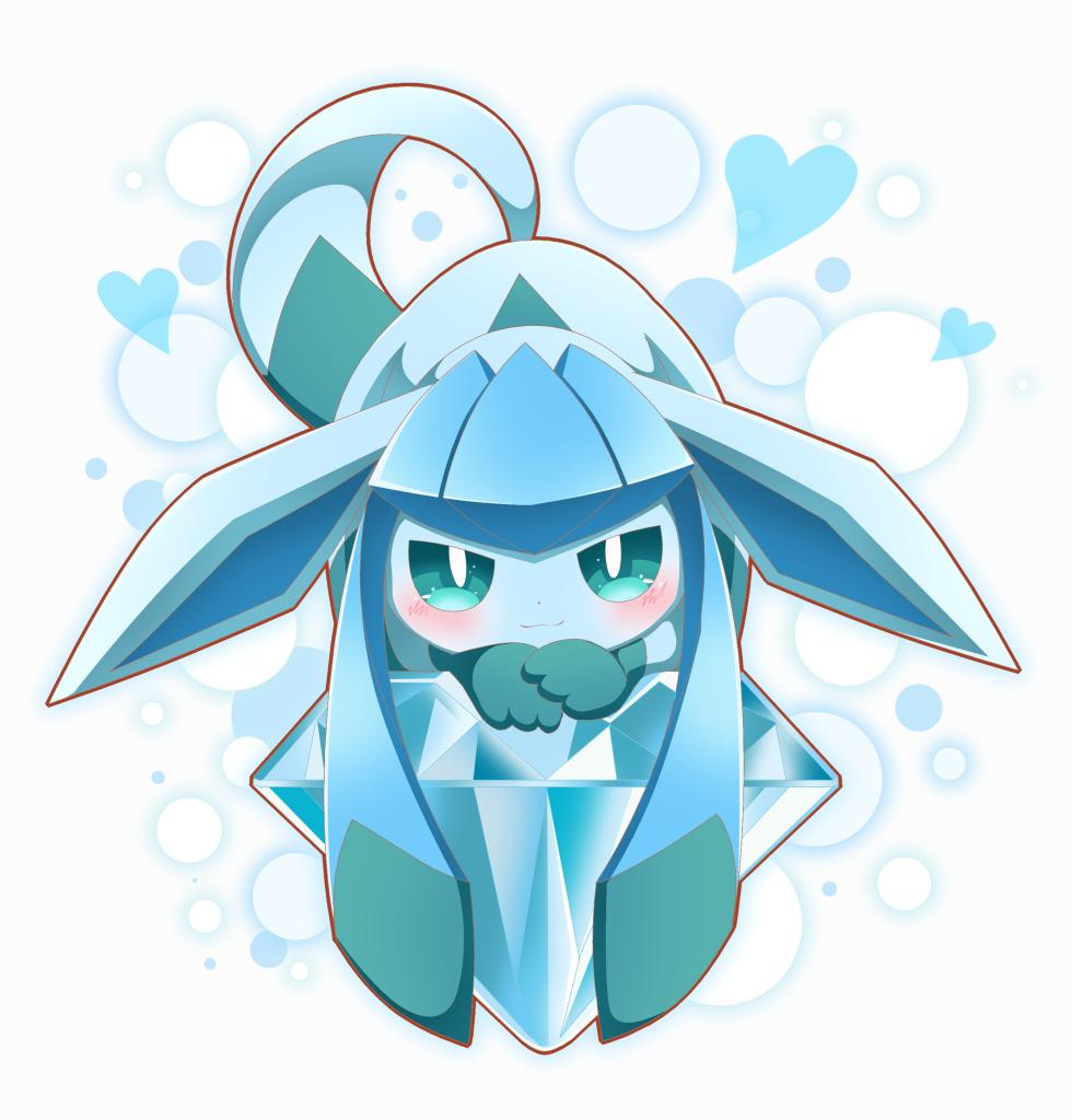 E621 2016 3 Ambiguous Gender Black Nose Blue Fur Blush Canine Cute Diamond Gem Eeveelution Feral Fur Pokemon Eeveelutions Cute Pokemon Pictures Cute Pokemon