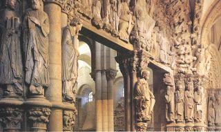 Portico de la Gloria, Catedral de Santiago.