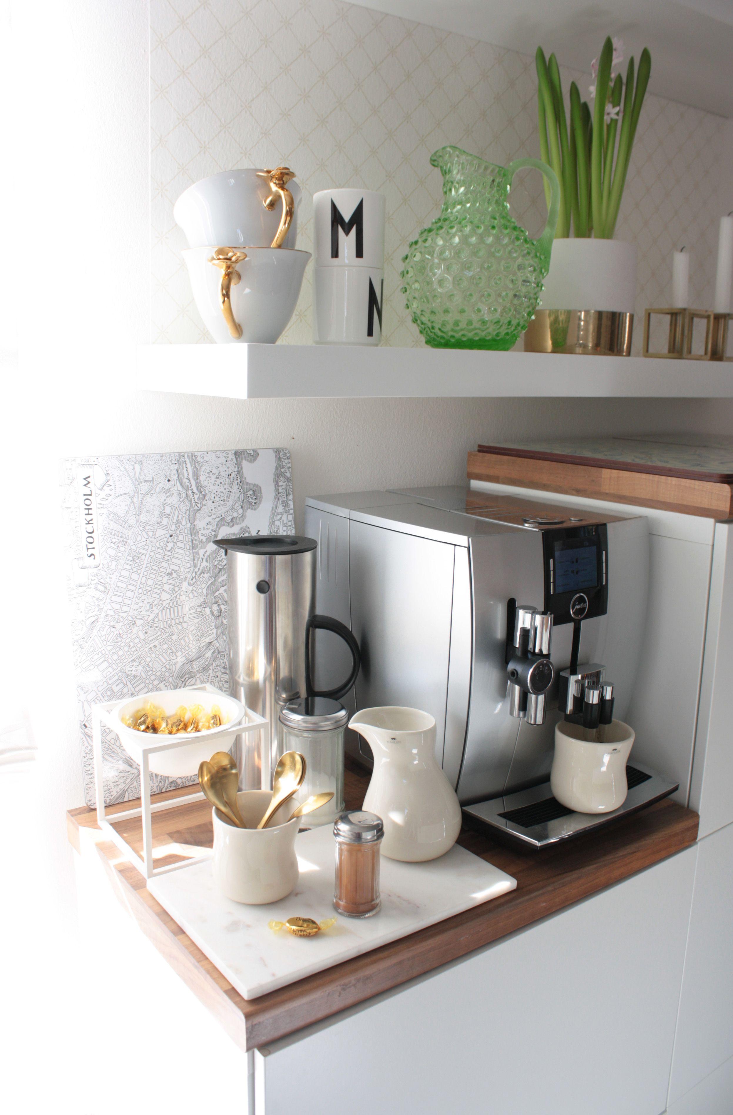 DIY Kaffeebar | Pinterest | Küchentheke, Küche diy und Küche