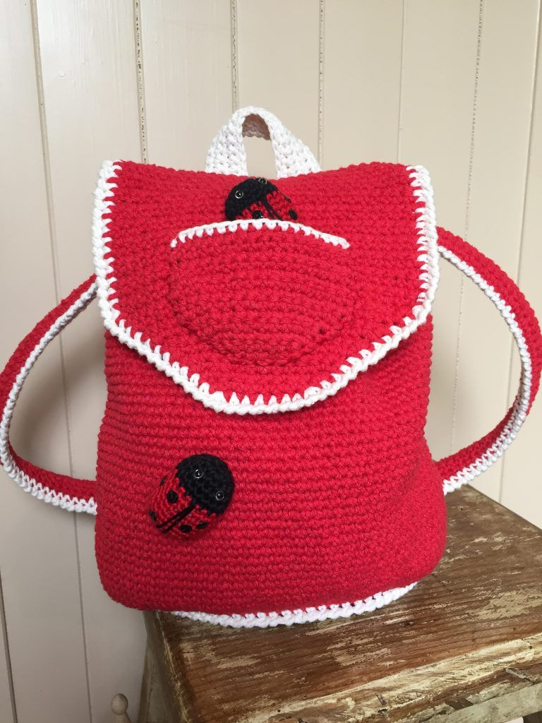 Crochet backpack ladybird ladybug by kate eastwood on the crochet backpack ladybird ladybug by kate eastwood on the lovecrochet blog bankloansurffo Choice Image