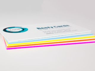 Super thick business cards with colored edges uv cards pinterest super thick business cards with colored edges colourmoves