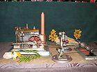Vintage Jensen Steam Engine In Working Diorama    Christmas Display