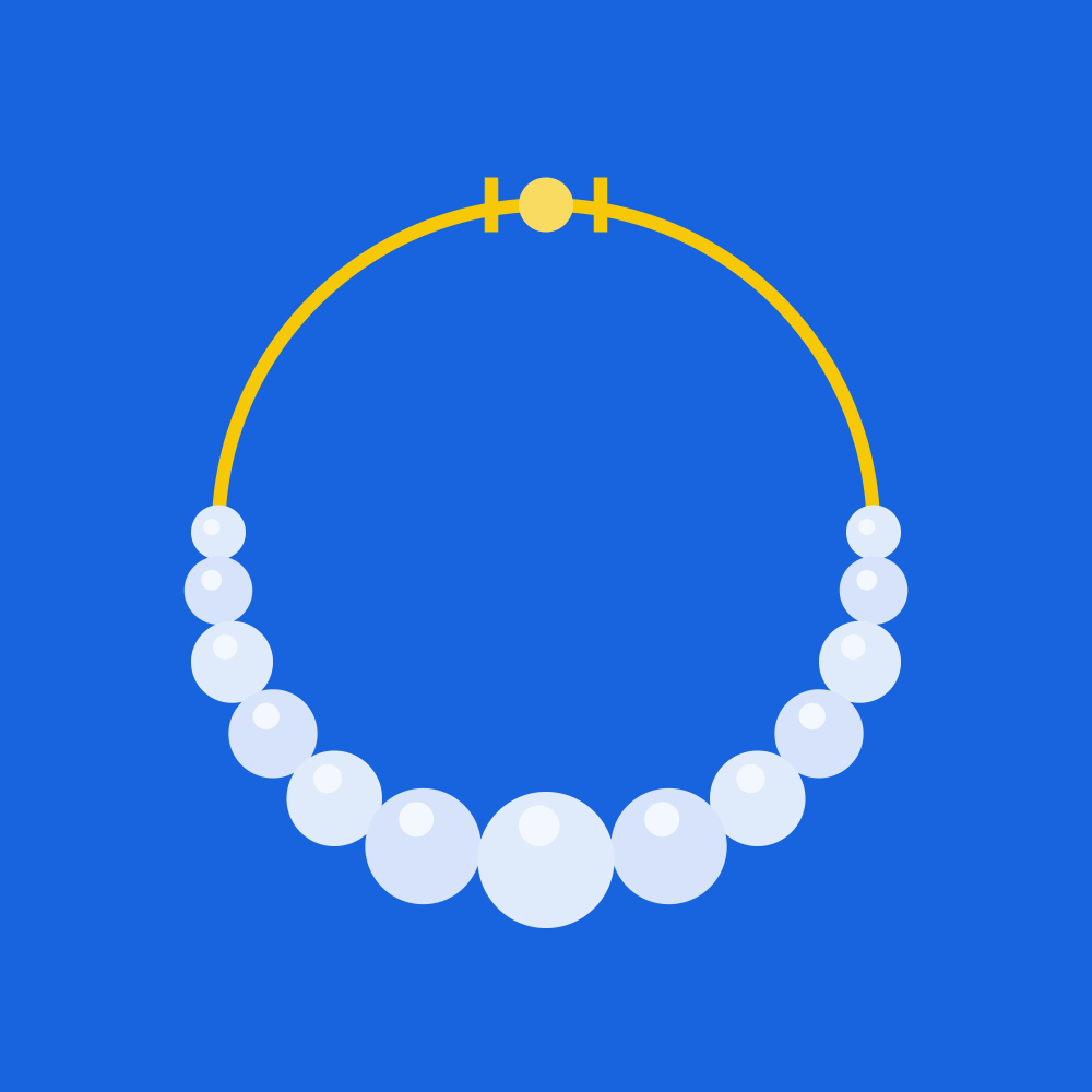 Pearl Necklace Jewelry Related Icon Flat Pearl Jewelry Necklace Pearl Necklace Necklace