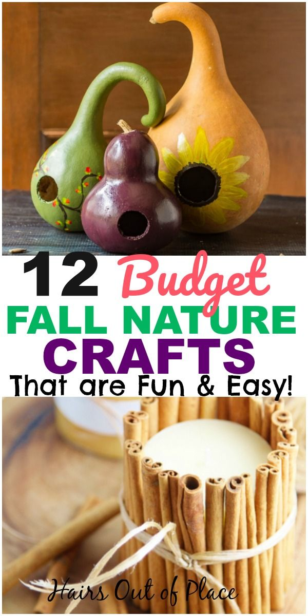 12 Of The Best Diy Fall Crafts That Make The Best Nature
