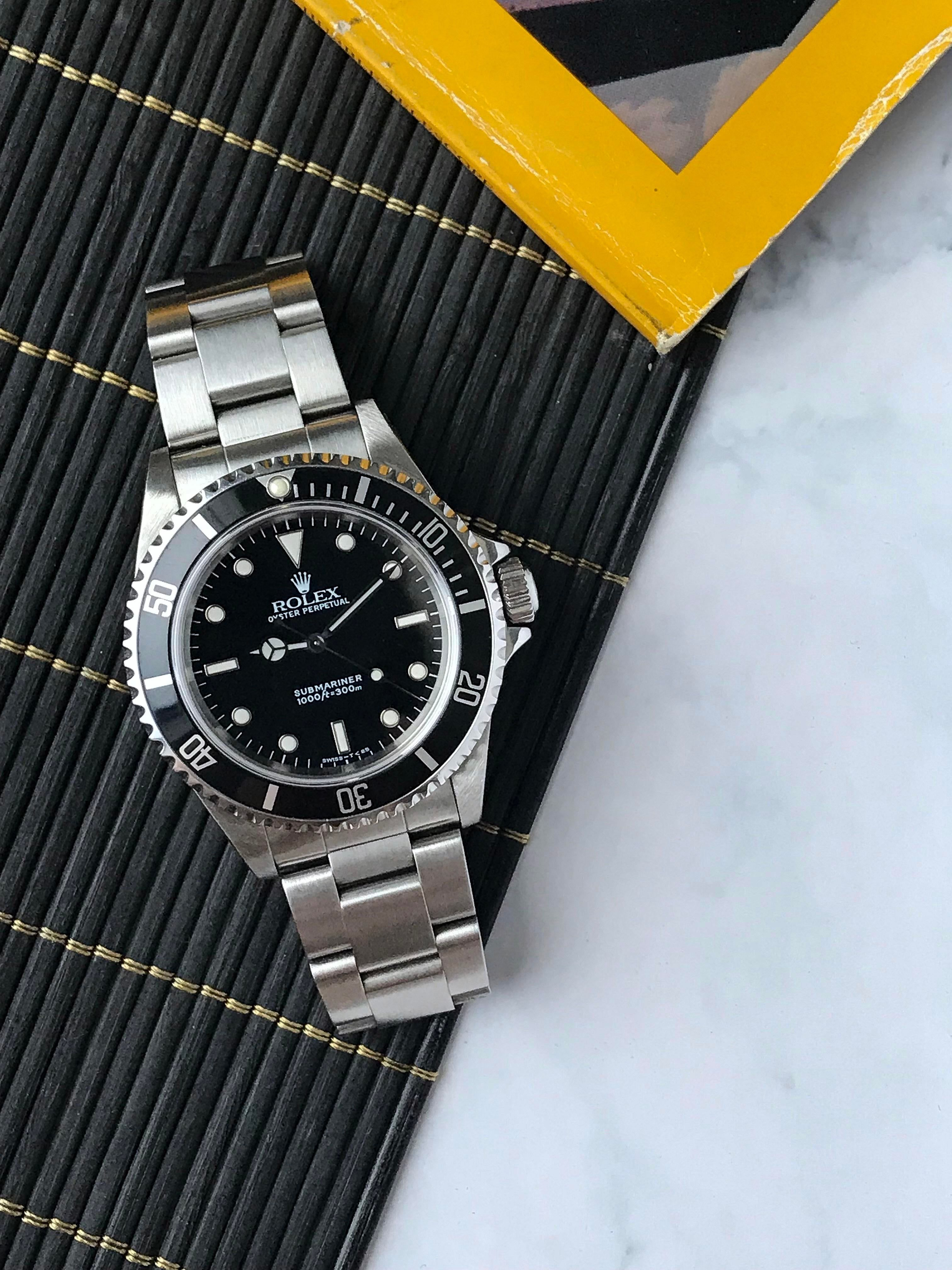 My 14060 1996 Rolex In 2020 Rolex Horology Tudor Watches