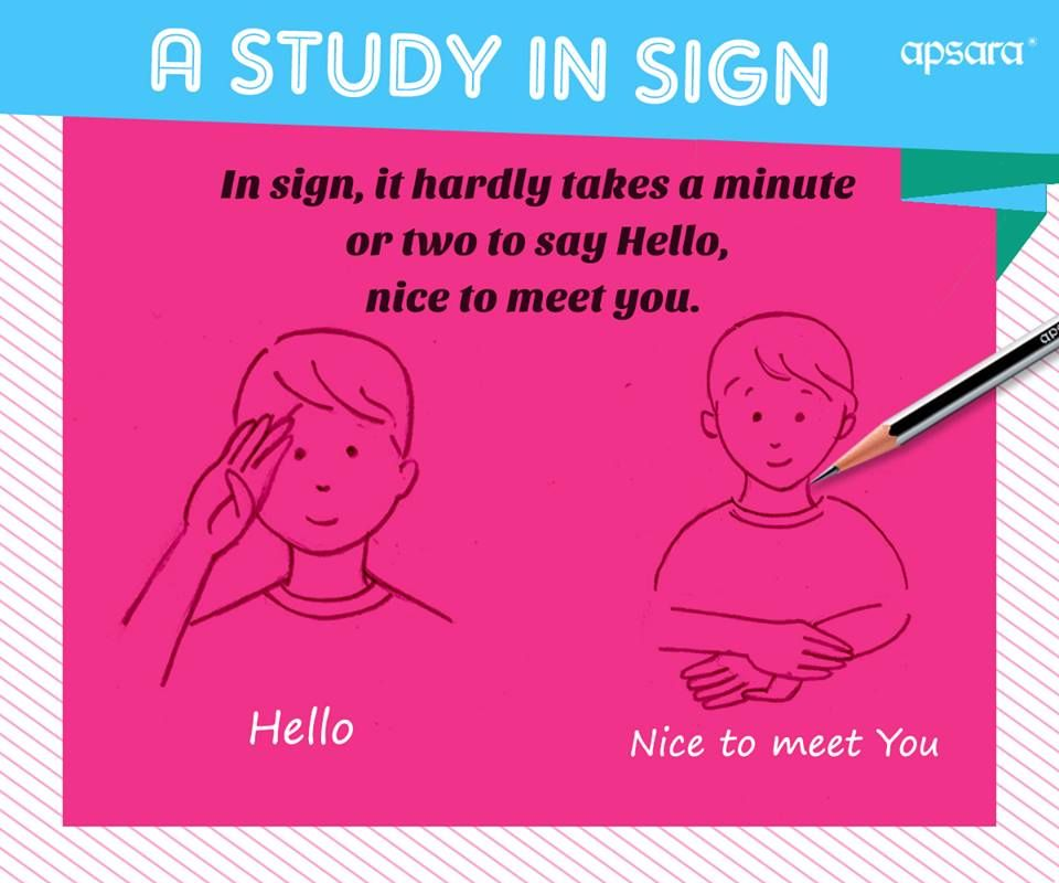 You may now greet a hello to every person whether mute or not just you may now greet a hello to every person whether mute or not just with a happy sign signlanguage m4hsunfo