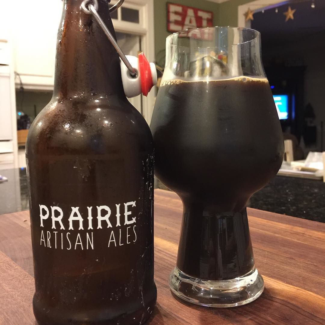 @prairieales Cinnamon Pecan BOMB! Incredible cinnamon and pecan notes with the kick of BOMB!  One of the best I've ever had!  #stout #stoutwhisperer #craftbeerporn #beverages #drinks #drink #stouts #craftbeer #beer #craftbeerpics #craftbeernotcrapbeer #amazing #prairieartisanales #bomb