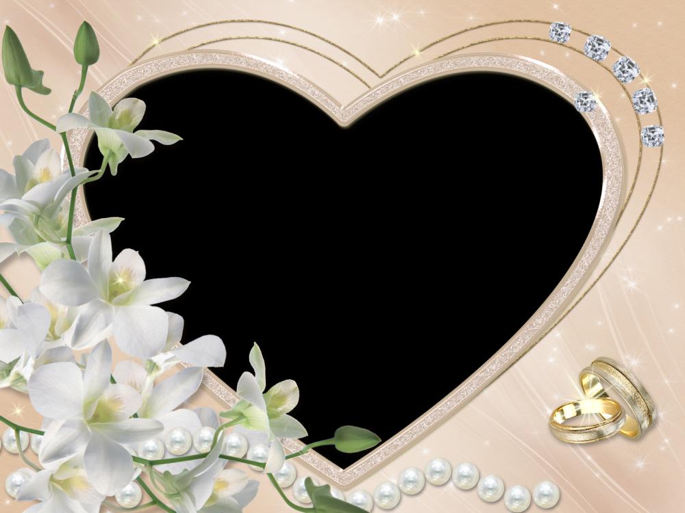 Elegantes Marcos para Fotos de Boda o Matrimonio | Marcos Gratis ...