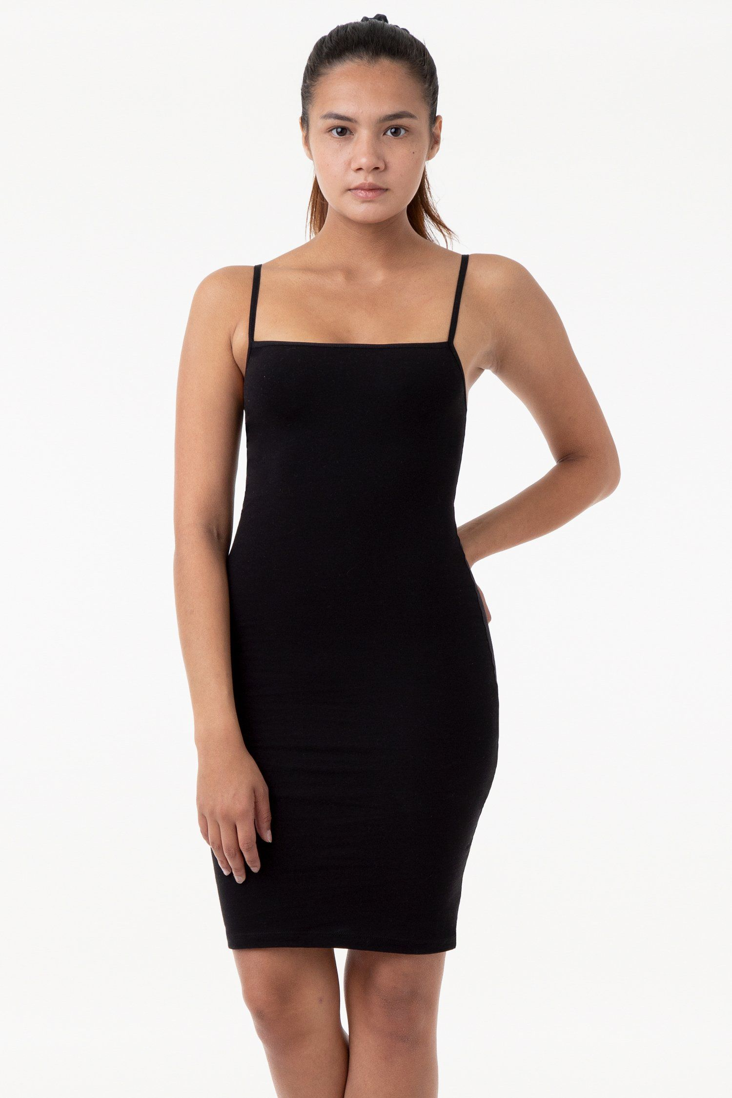 83401 Spaghetti Mid Length Dress