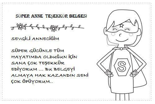 Super Anne Etkinlikleri Okul Oncesi Etkinlik Faaliyetleri Madamteacher Com Anneler Gunu Anne Okul Oncesi