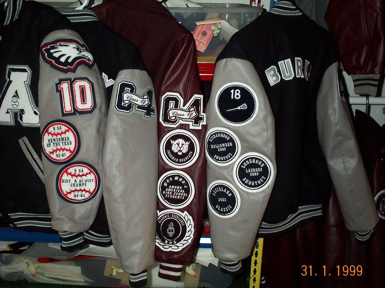An Assortment Of Set In Sleeve Letterman Jackets Created By Customchenillepatches Com Letterman Jacket Letterman Jacket Ideas Varsity Letterman Jackets