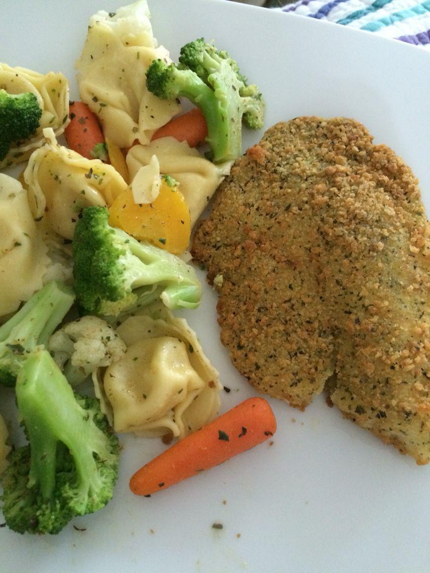 Pasta salad and baked fish #health #foodporn #photo #BringTheNoise