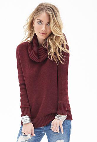 Classic Cowl Neck Sweater Forever21 2055880004 Dream Closet