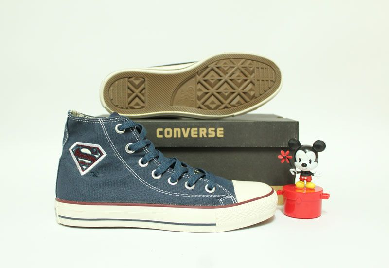 Converse ALL STAR HI x DC COMICS SUPERMAN LOGO