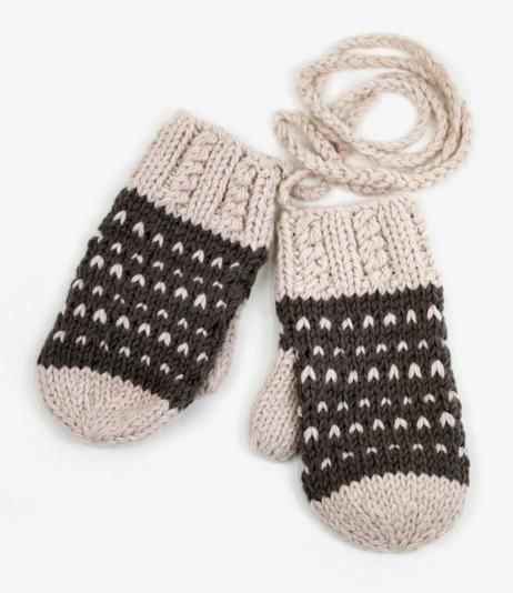 Mittens on string, my favourite!