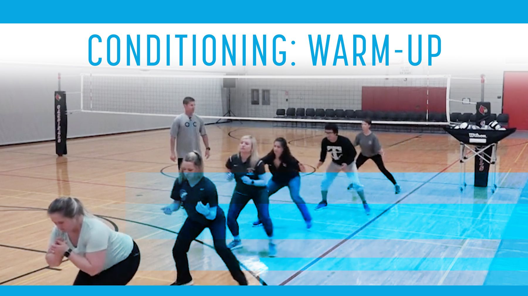 Conditioning Why Warming Up Your Athletes Matters The Art Of Coaching Volleyball Volleyball Training Volleyball Workouts Volleyball Skills