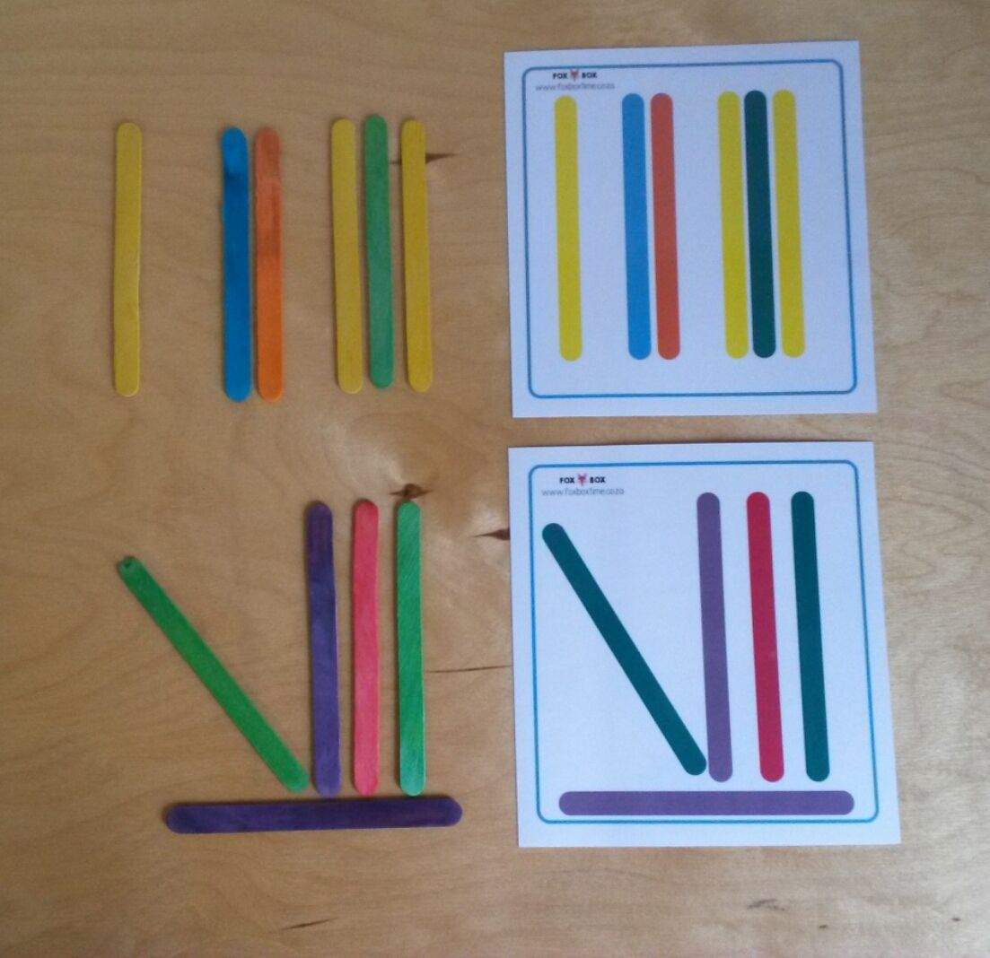 Wooden Stick Activity Pack