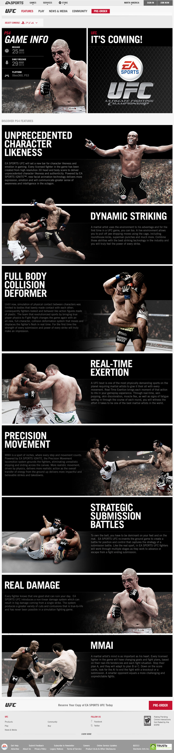 EA SPORTS UFC on Behance Ea sports ufc, Ea sports, Ufc