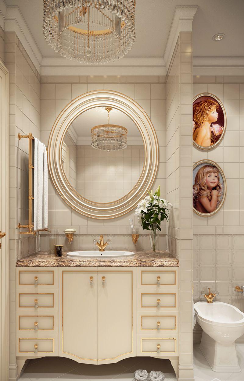 Beige Contemporary Bathroom Vanity Designs To Inspire You