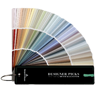 Paint Colors By Benjamin Moore Designer Picks Brian Gluckstein B M Fan Deck