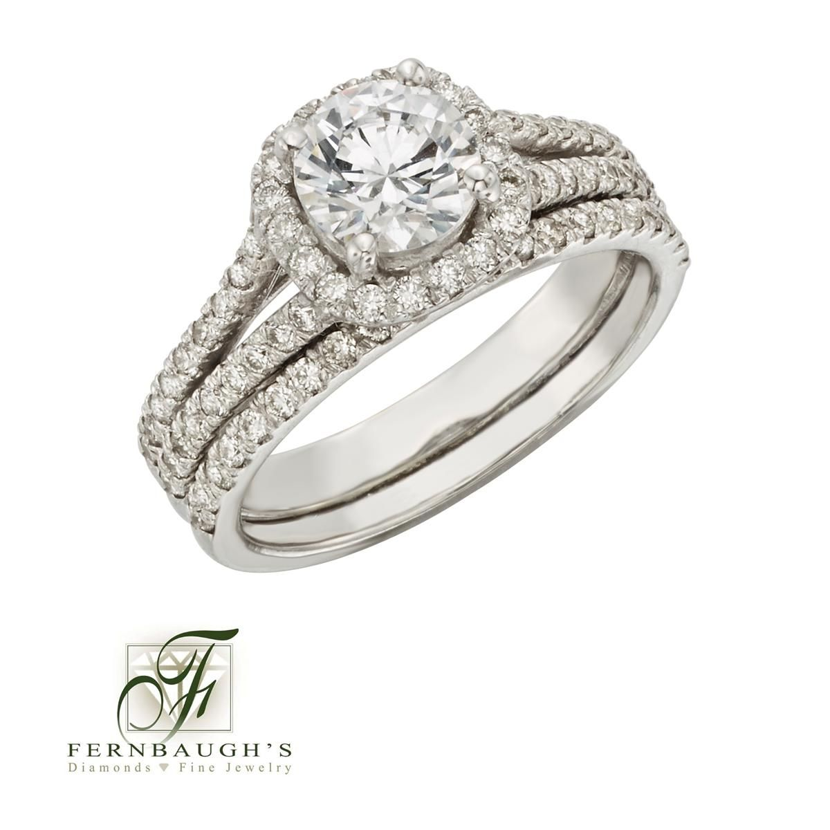 Fine Jewelry 1/7C Diamond 14K White Gold Ring o05yL45