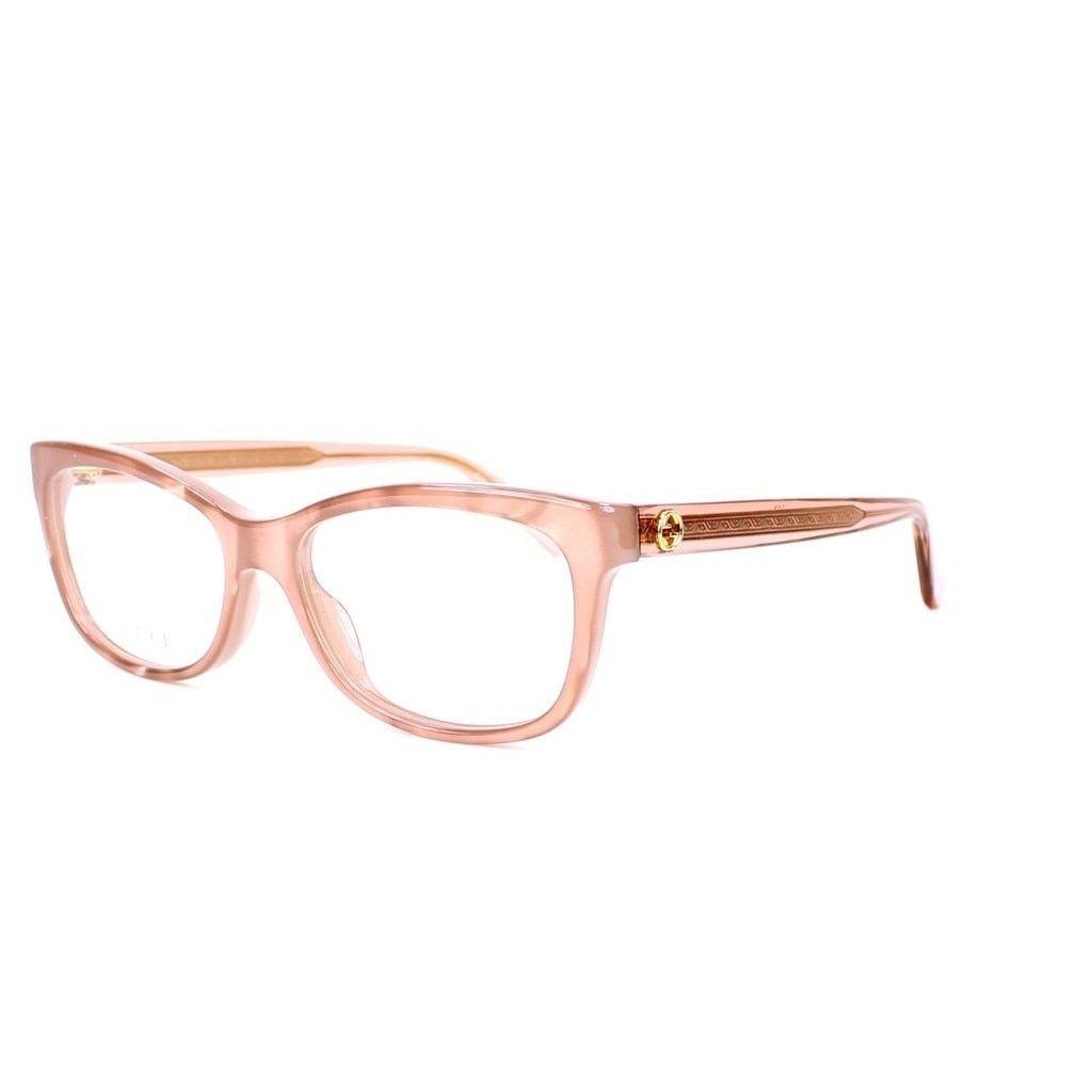 8c5004ff46 Gucci 3822 0R4F Womens Rectangular Eyeglasses