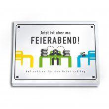 Stickerheftchen Einen Monat den Boss spielen online kaufen   design3000.de Online Shop