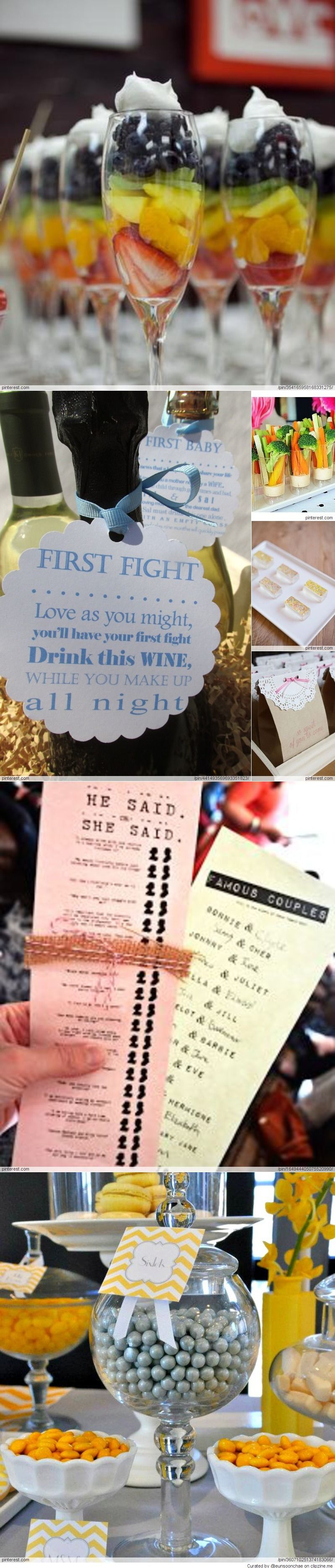 Bridal shower ideas love the famous couples card game