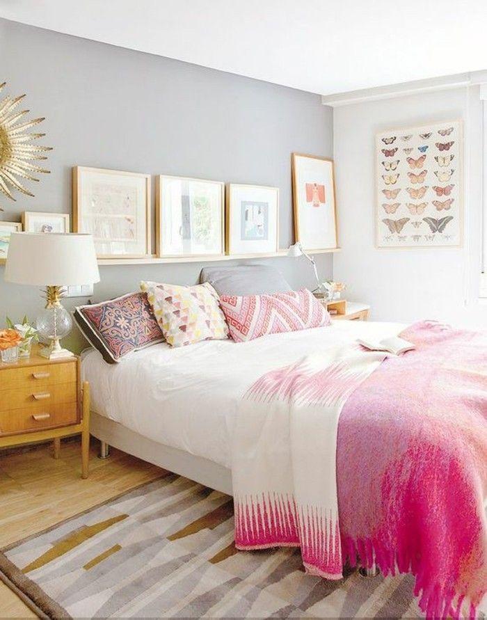 Quelle couleur pour une chambre à coucher? | Murs clairs, Quelle ...