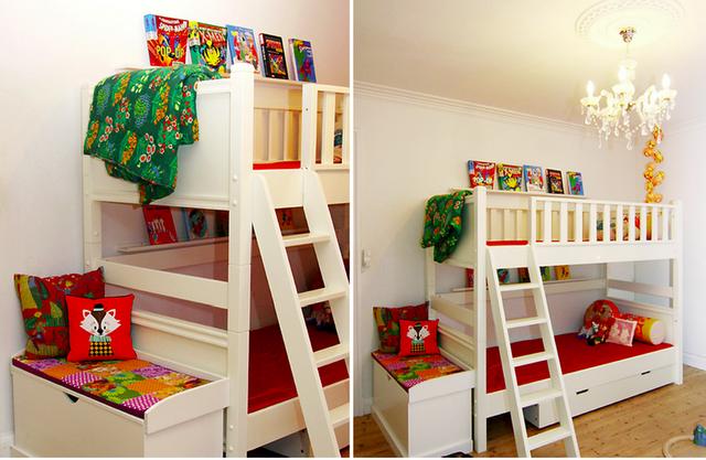 Cutest fun bunk bed