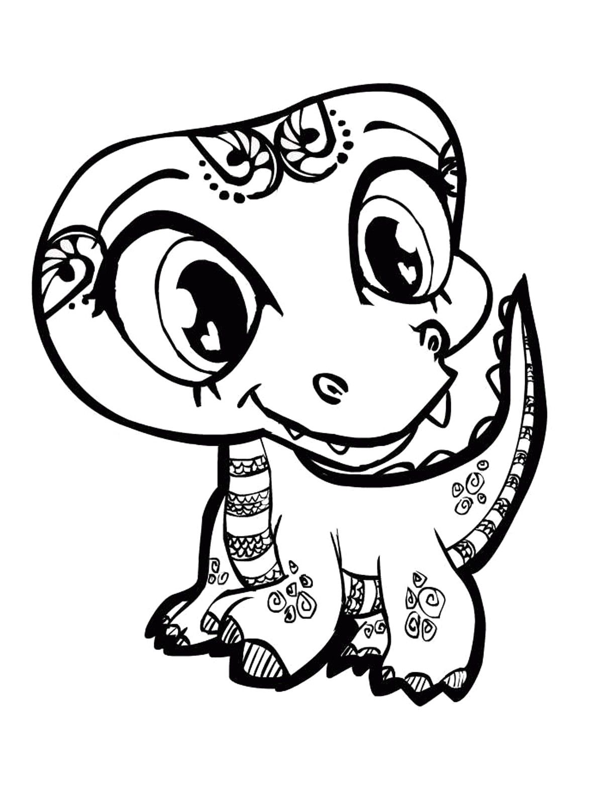 Cute Baby Animal Coloring Pages Best Of Free Printable For Older