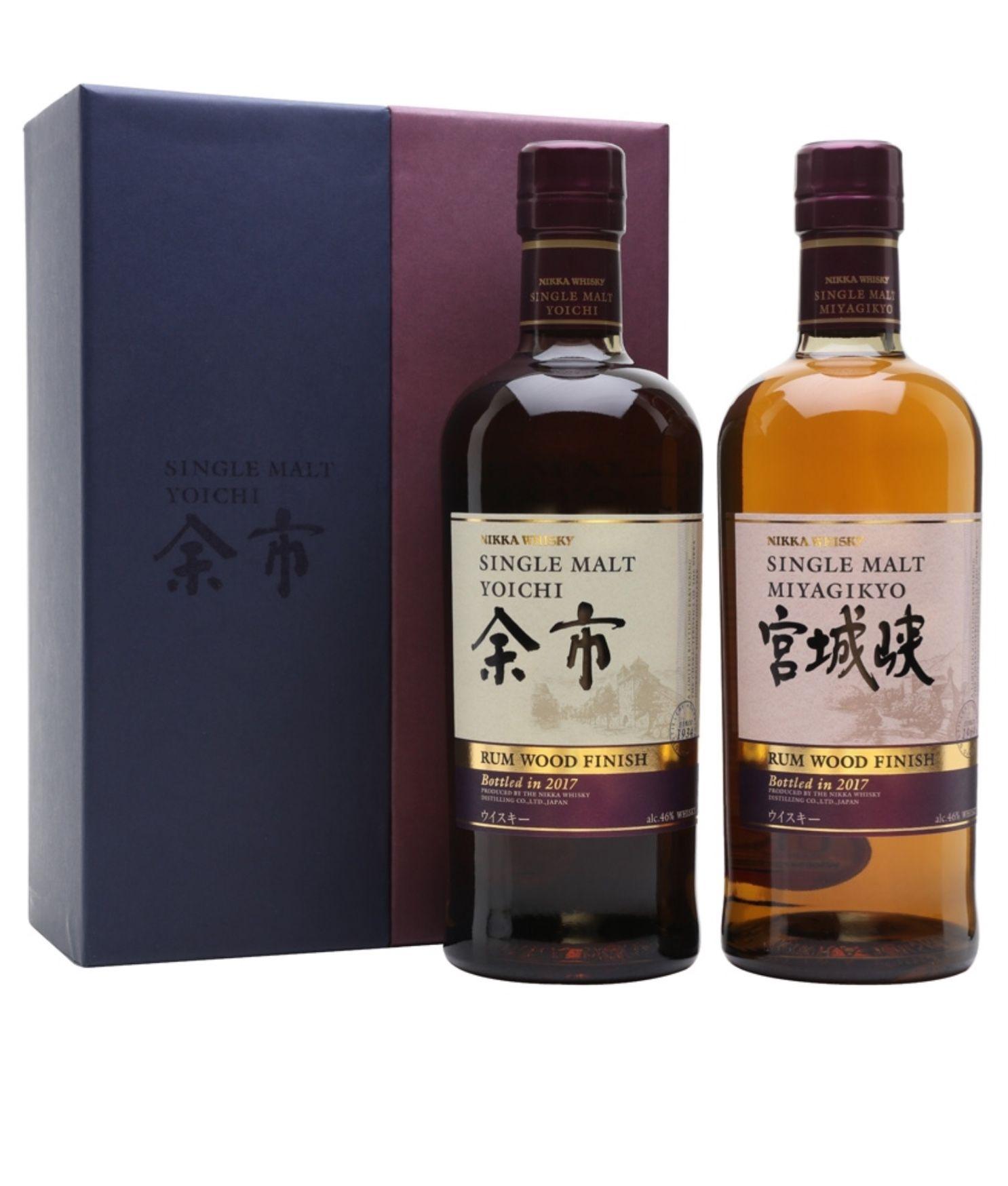 nikka yoichi miyagikyo rum cask finish japan