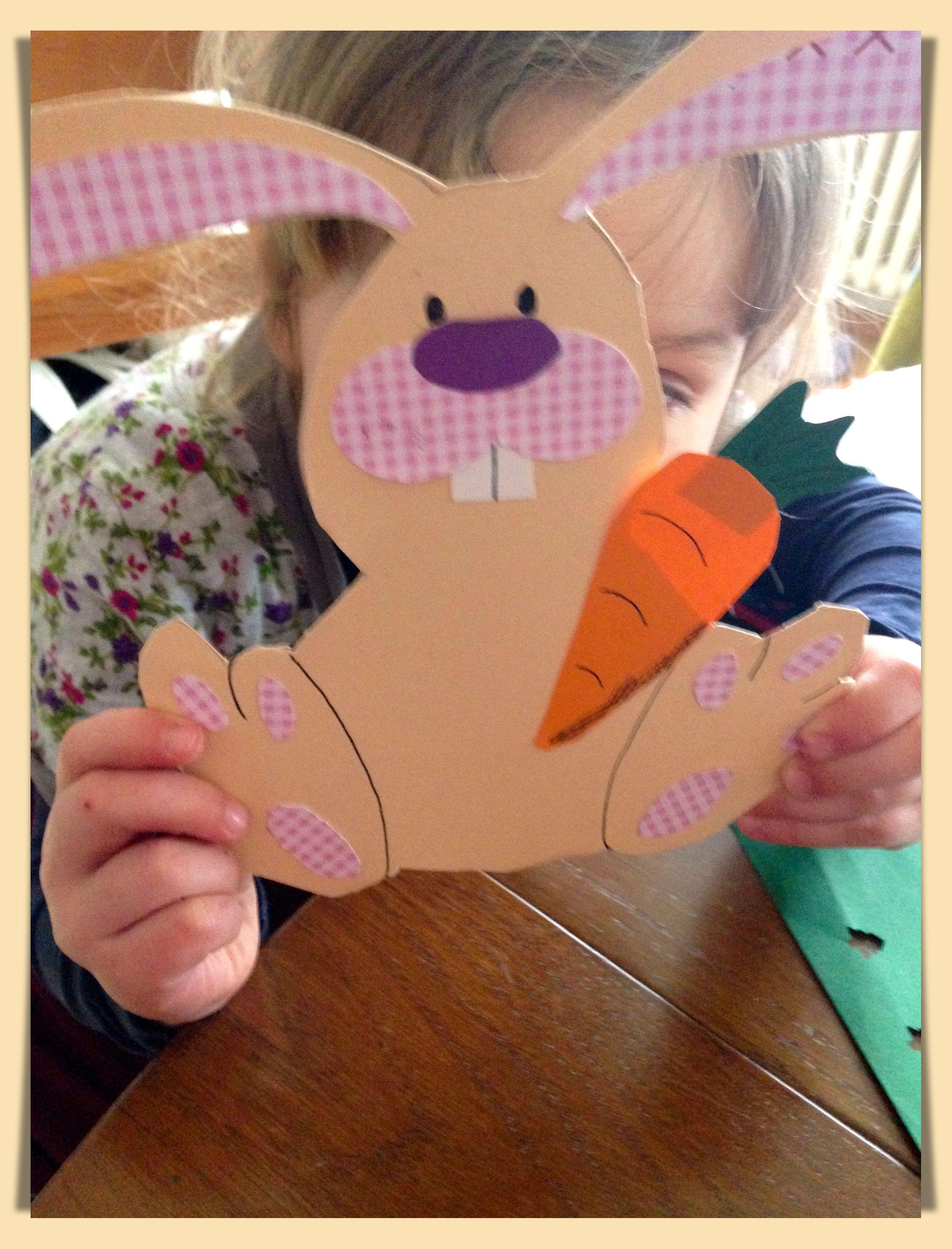 Verschiedene Bastelideen Für Kleinere Kinder Ostern Pinterest