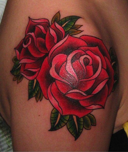 Noice Old School Tattoos Styles Tatouage Tatouage Rose