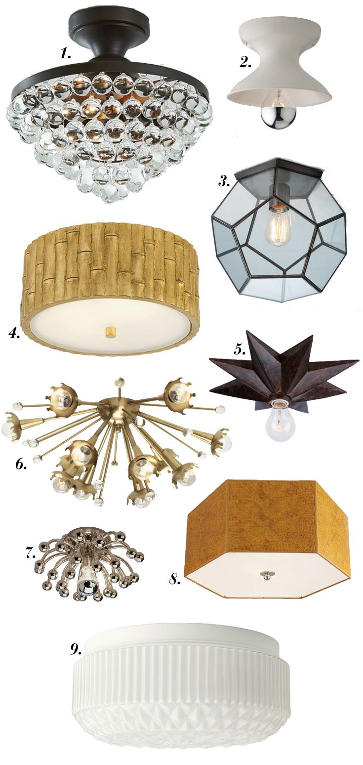 9 covetable lights for smaller closets hardware - Small closet lighting ideas ...