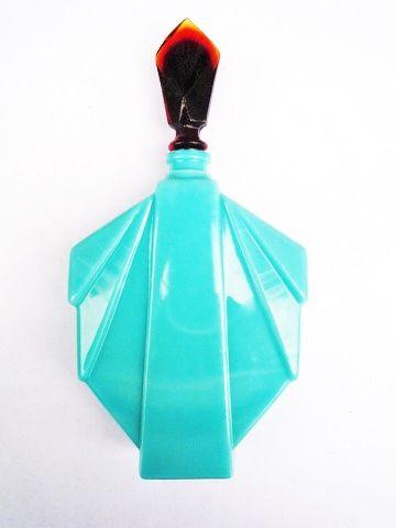 Catalogue - Flacon* op Manhattan GM turquoise / H. 18 CM