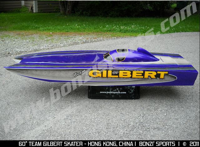 This Just Added To The Gallery The Team Gilbert BONZI - Custom vinyl decals for rc boatsrc boat archives bonzi sports rc gas boats and accessories