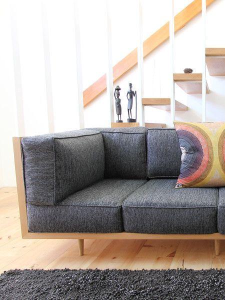 Big Box Couch Diy Sofa Sofa Design Sofa Wood Frame
