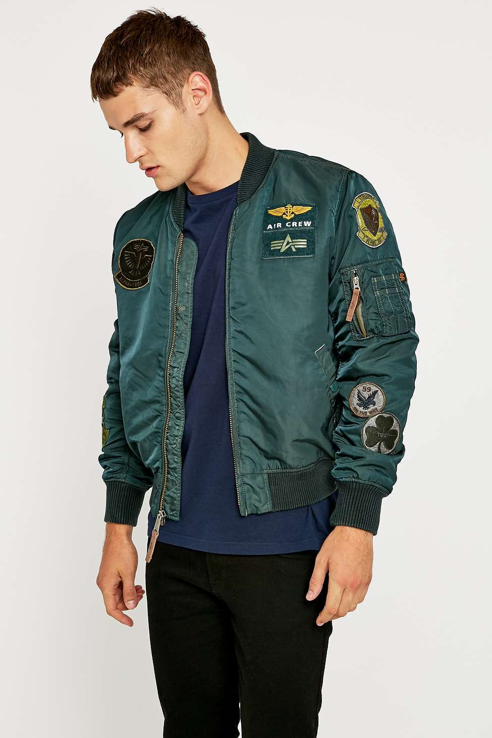 Alpha Industries - Patch MA1 Bomber Jacket - 200€