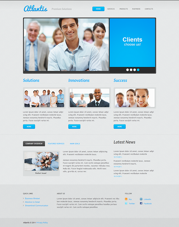 Business solutions joomla template by html5 web templates joomla business solutions joomla template by html5 web templates wajeb Choice Image