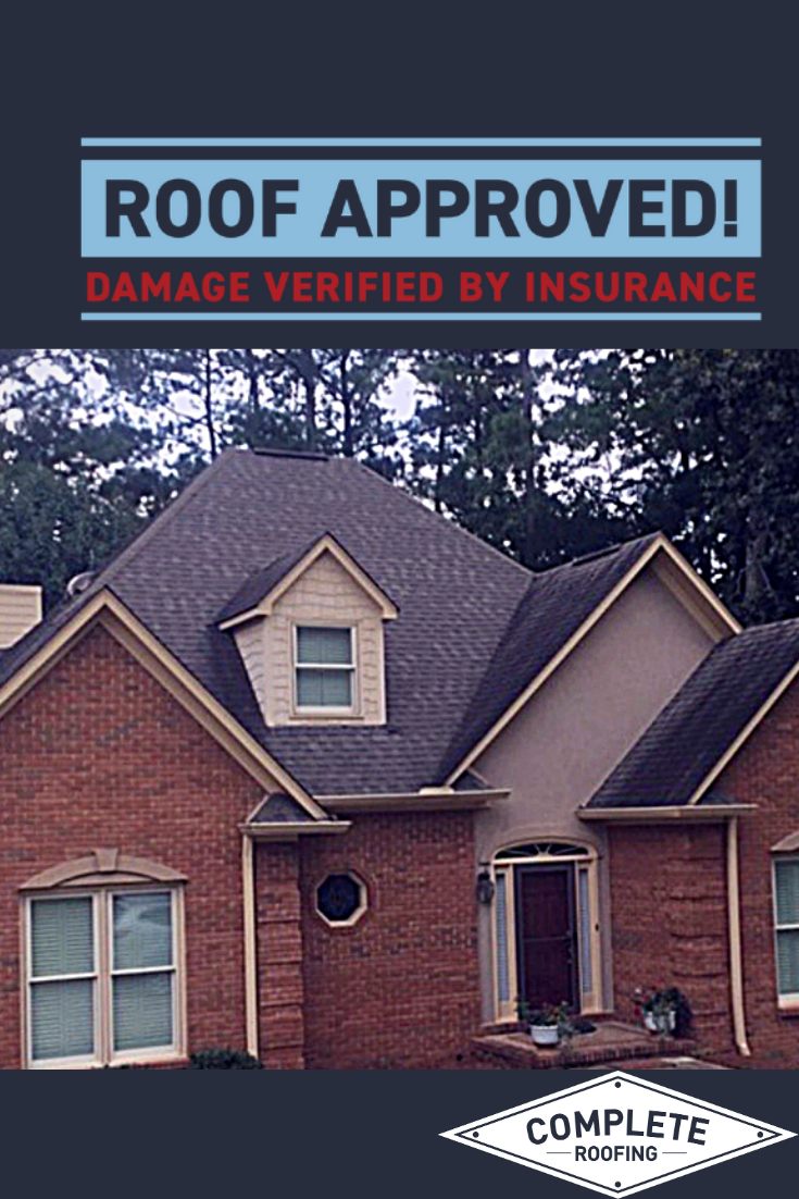 Pin On Roof Approved Paid By Insurance