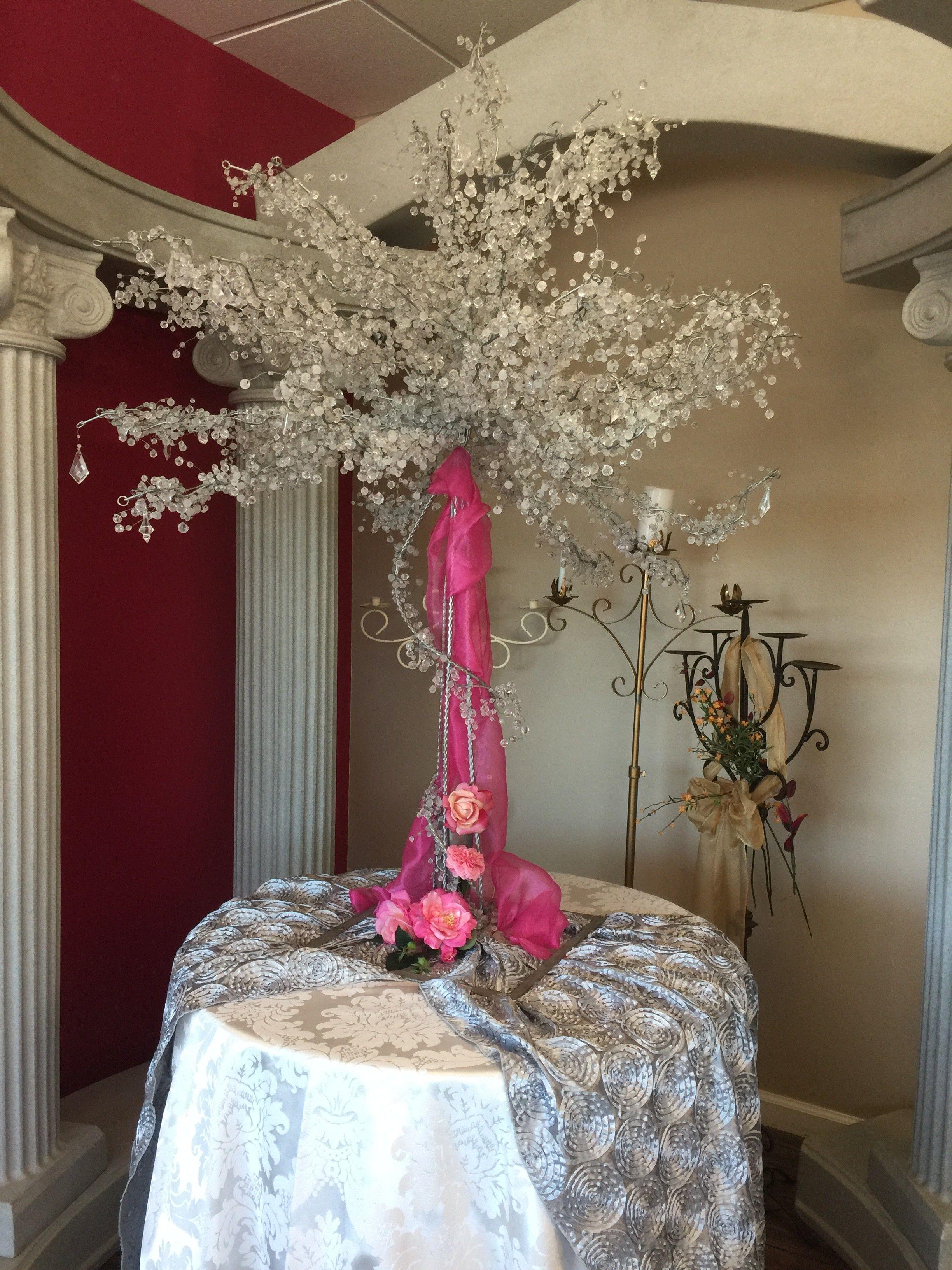 Crystal tree houston tx event rentals crystal tree